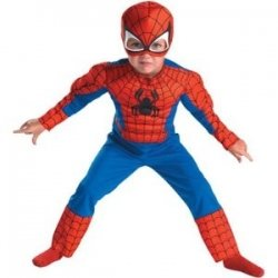 Toddler Spider Man Muscle Costume