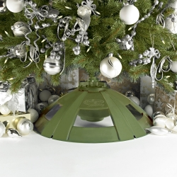 Excellent Rotating Christmas Tree Stand Easy Diy Christmas Decorations Tissureus